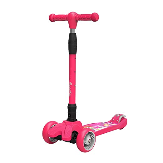 Patinetes Plegable para niños Scooter Flash Wheel Scooter 2 ...