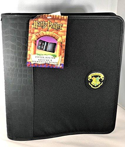 Harry Potter Hogwarts Crest Zipper Binder With Five Inner Pockets by Harry Potter