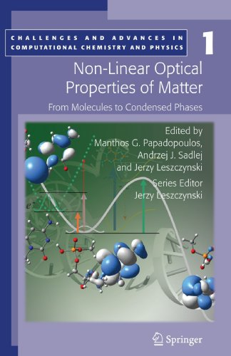 Non-Linear Optical Properties of Matter: From molecules to condensed phases (Challenges and Advances in Computational Ch