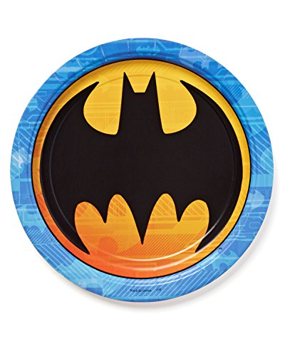 American Greetings Batman Party Supplies, Paper Dinner Plates, 8-Count