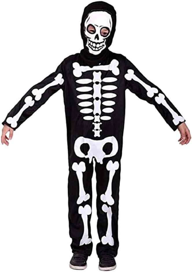 Disfraz de esqueleto - zombis - disfraces para niños - halloween ...