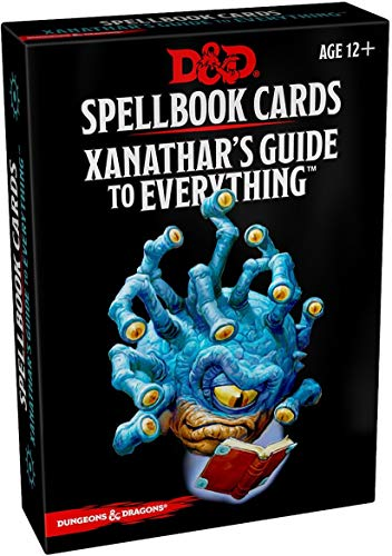 Book cover from Spellbook Cards: Xanathars (Dungeons & Dragons)
