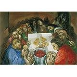 The Last Supper by Sieger Köder Maxi Poster 54 x 99 cm matt laminated