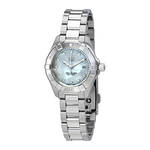Tag Heuer WBD1414.BA0741 - Reloj de pulsera para mujer con esfera de nácar y diamantes blancos: Amazon.es: Relojes