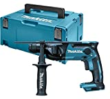 Makita DHR165ZJ 18 V Li-ion Rotary Hammer Drill SDS Plus in a Makpac Case, No Batteries Included