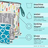 Planet Wise Wet Diaper Tote Bag, Aim Twill, Small