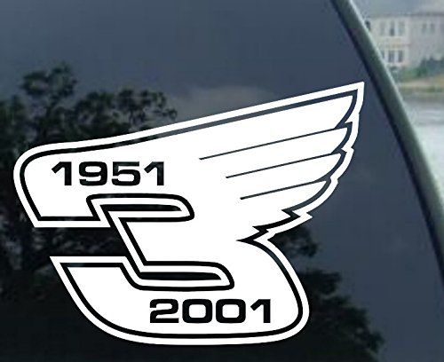 DALE EARNHARDT #3 WITH WINGS Decal Window (Dale Earnhardt Decals)