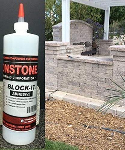 Bonstone Block It Polyurethane Adhesive To Bond Natural Stone & Masonry Blocks