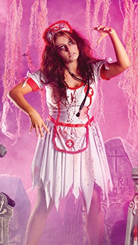 Party King Plus Size Nurse Zombie Costume (2X) -