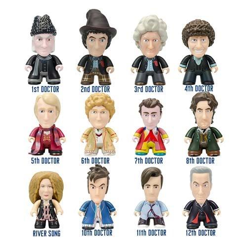 Doctor Who Titans Regeneration Coll. Mini-Figure Display (Coll Box)