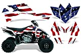 2006-2009 Suzuki LTR 450 AMRRACING ATV Graphics Decal Kit-Stars and Stripes