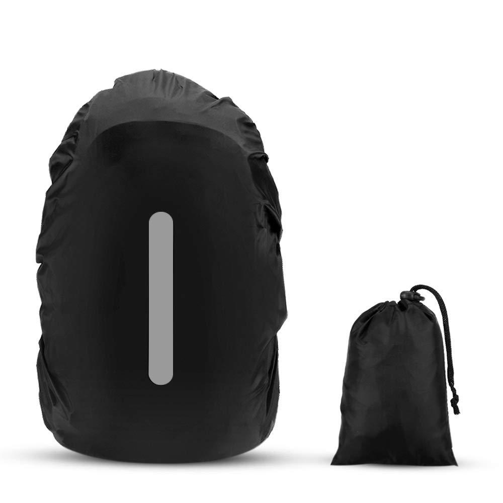 5c54479e873e9 AGPTEK 2 Stück Wasserdichter Regenschutz Rucksack Cover Regenhüllen  Regenabdeckung für Camping Wandern product image