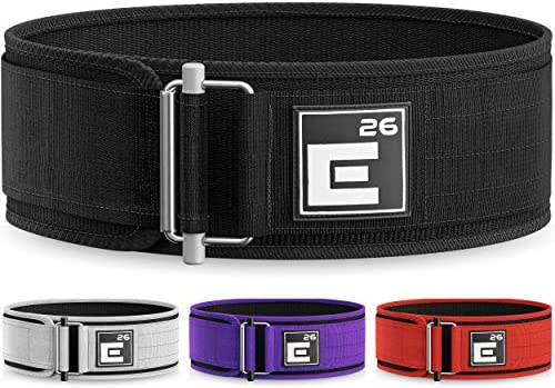 Self-Locking Weight Lifting Belt Premium Weightlifting Belt for Serious Functional Fitness, Weight Lifting, and Olympic Lifting Athletes Lifting Belt for Men and Women Workout Belt for Lifting