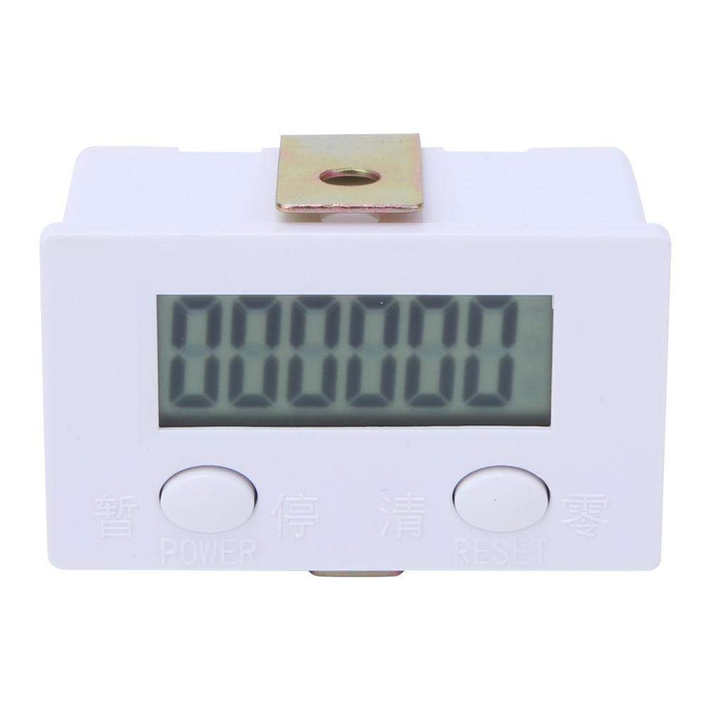 Digital Display Counter Electronic Counter 6-Digit Digital Counter 0~999999 LCD Display Electronic Counter