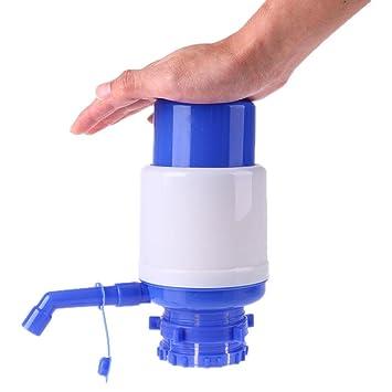 whitelotous Universal Manual mano presión barril dispensador de agua mineral, portátil potable Bomba de agua: Amazon.es: Hogar