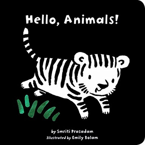 (Hello, Animals! (Black and White Sparklers) (Tiger Tales))