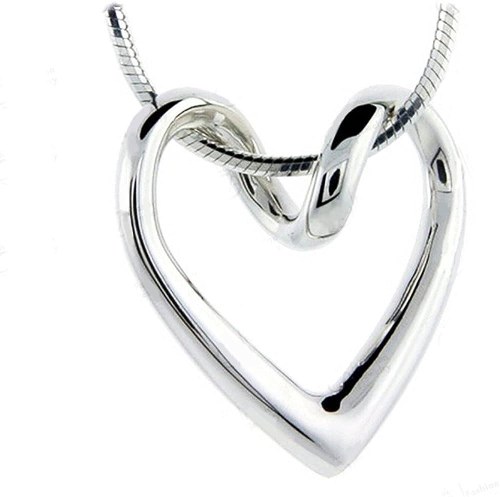 Majesto Collar Inspirado corazón Amor inspiración para Mujer Adolescente niña pequeña mamá - Accesorio de joyería de Regalo Premium 18ct Chapado en Oro
