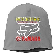 Rockstar Energy Yamaha Fox Racing Unisex Warm Winter Hat Knit Beanie Skull Cap Cuff Beanie Hat Winter Hats