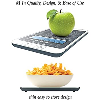 NutraTrack Mini: Easiest To Use Food & Kitchen Scale With Benefit's! Why Buy A Scale That Only Displays Weight?