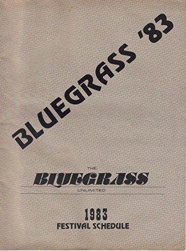 Bluegrass Festival Schedule ()