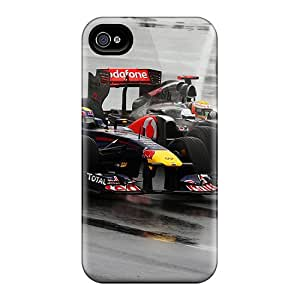 Hot Style Imx37624CHrk Protective Cases Covers For Iphone6(vettel And Hamilton)
