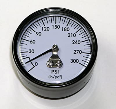 Dewalt D55146 Compressor Replacement Pressure Guage (2 Pack) # A18885-2pk