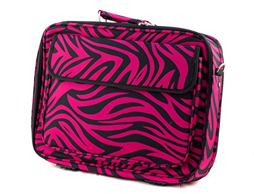 (Uni Collections Laptop Case (Zebra Print Black/Pink))