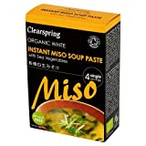 Clearspring - Organic Instant White Miso Soup Paste with Sea Vegetables - 60g