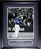 Midway Memorabilia Jose Bautista Toronto Blue Jays Bat Flip 2015 AL Finals 16x20 Frame Etched Plaque