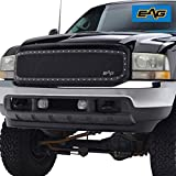 EAG Stainless Steel wire mesh Front Grille for 99-04 Ford Super Duty F250 F350 F450 F550