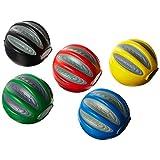 CanDo Digi-Squeeze Hand Exerciser, 5 Piece Set (Yellow, Red, Green, Blue, Black), Medium