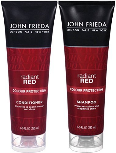 John Frieda Radiant Red Colour Protecting, DUO set Shampoo + Conditioner, 8.45 (Colour Protecting Conditioner)