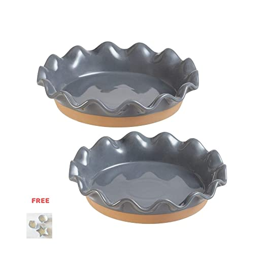 Ellie - Plato para tarta (27,9 cm y 22,8 cm, 2 unidades): Amazon ...