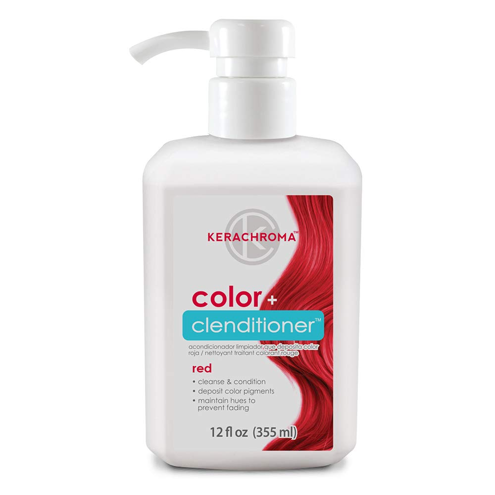 Keracolor Color Plus Clenditioner, Rose Gold, 12 Fluid Ounce United Hair Care 6800314