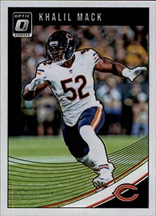 wholesale dealer 32230 e21db 2018 Donruss Optic #20 Khalil Mack Chicago Bears NFL Football Trading Card