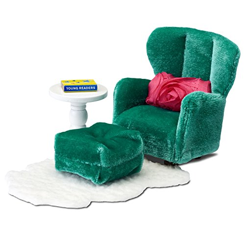 Lundby Smaland Armchair & Footstool Set