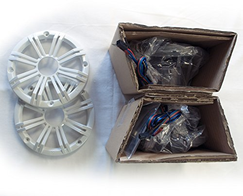 Kicker 6.5'' White LED Marine Speakers (QTY 2) 1 pair of OEM replacement speakers by Kicker (Image #2)