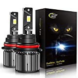 Automotive : Cougar Motor 9007 LED Headlight Bulbs, High/Low All-in-One Conversion Kit, 10000 Lumen (6000K Cool White) - Adjustable Beam Pattern