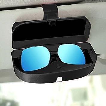 678517b1d9 Switty - Soporte para gafas de sol para coche, universal, con caja de  almacenamiento para gafas de sol y tarjetero para visera de sol, color  negro: ...