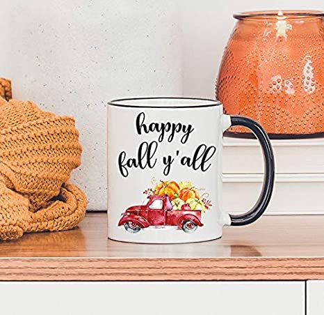 Coffee Spoon Apple Cider Spoon Autumn Decorations It/'s Fall Y/'All Home Decor Happy Fall Fall Decorations