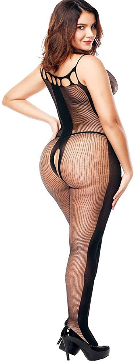 YKARITIANNA Womens Mesh Lingerie Hollow Fishnet Halter Babydoll Underwear Nightwear 2019 Summer