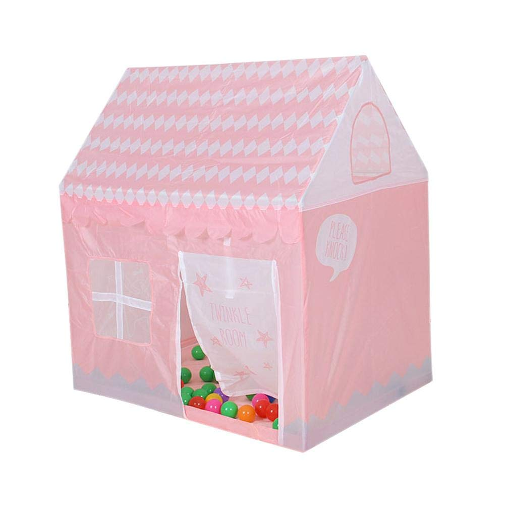 Sisterxsc ハウス ピンク テント おもちゃ 子供にプライベートなスペースを提供 お子様にぴったりのサイズを提供 B07PPP5N7D