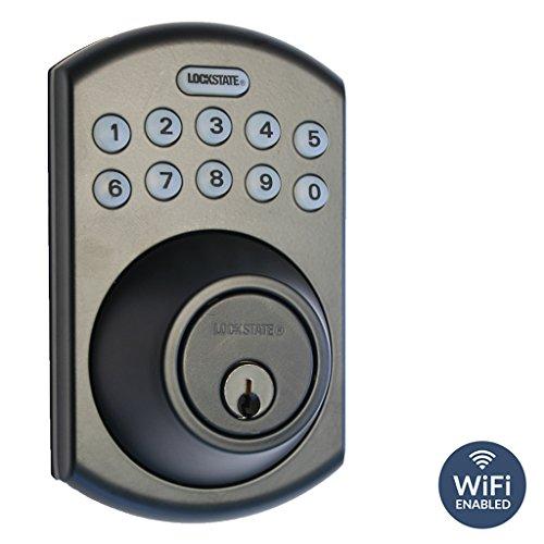 LockState RemoteLock 5i WiFi Electronic Deadbolt Door Loc...