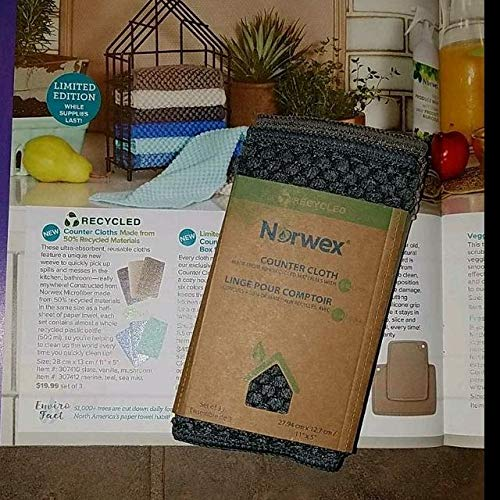 Norwex Counter Cloths, slate, vanilla, mushroom by Norwex