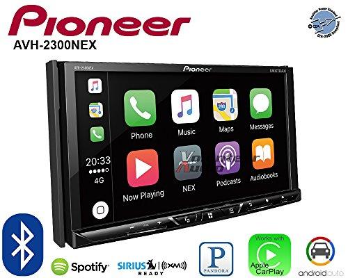 Volunteer Audio Pioneer AVH-2300NEX Double Din Radio Install Kit with Apple CarPlay Android Auto Bluetooth Fits 2001-2002 Mazda 626 by Volunteer Audio (Image #3)