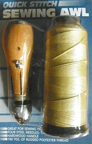 New SEWING AWL KIT hand stitch Sails leather canvas repair (Diego Furniture Repair San Upholstery)