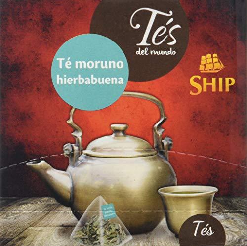Ship con 15 Piramides Te verde moruno con Hierbabuena TES DEL MUNDO, SHIP