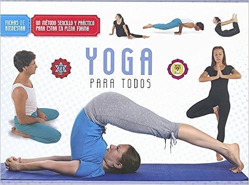 Yoga para todos (Fichas de bienestar): Amazon.es: S ...