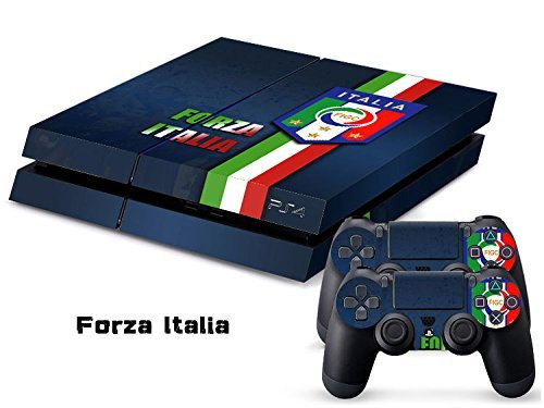 Elton Forza Italia Destination of Italy Italian Football International Soccer Theme 3M Skin Decal Sticker For PS4 Playstation 4 Console Controlle (B01N5SBSJ8) Amazon Price History, Amazon Price Tracker