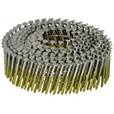 BOSTITCH C3R80BDG Thickcoat Round Head 1-1/4-Inch by .080-Inch by 15 Degree Wire Collated Ring Shank Coil Siding Nail, 4,200 per Box